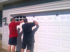 new houses, faux window garage, faux garage door windows, garage doors, garag door, garage door hardware
