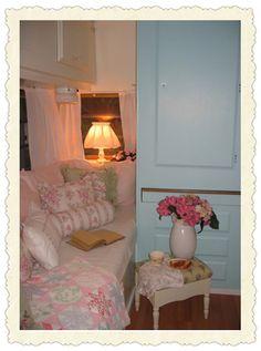 """vintage camper """"cottage"""""""