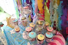 Chloe's Celebrations ~ Alice in Wonderland Baby Shower #aliceinwonderland #cupcakes #party #shower