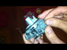 How to Repair a Lawn Mower by Cleaning the Carburetor - YouTube