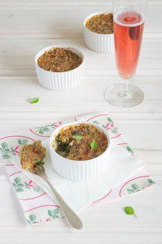 Courgette & Rice Gratin with Basil and Parmesan - healthy, wholegrain, vegetarian dinner! ramsonsandbramble.com