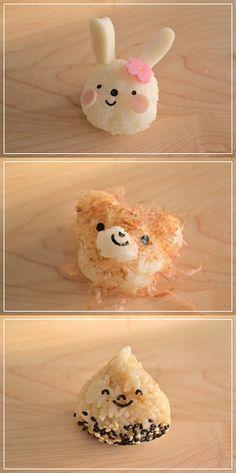 Kawaii Onigiri (Japanese Rice Balls)