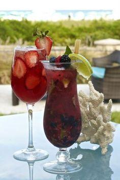 Yum: Three Fruity Sangria, Margarita, and Mojito Recipes