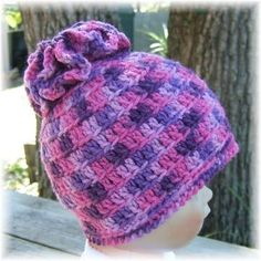 Purple and Pink Flower Top Hat $30.00