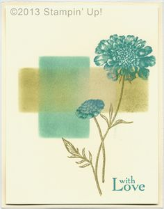 Stampin' Up! Cards - Field Flowers
