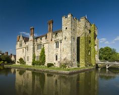 Hever Castle is best known as being the childhood home of Anne Boleyn.