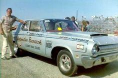 Dick Landy 64' Dodge before it became the first AFXer.