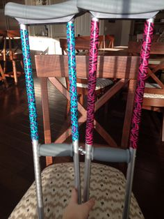 Decorated my crutches