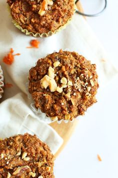 Carrot Apple Muffins (GF)