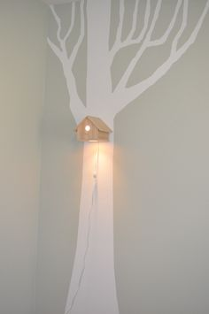 Birdhouse Lamp, via Etsy