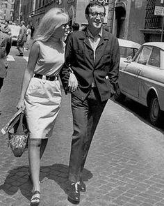 Peter Sellers and Britt Ekland