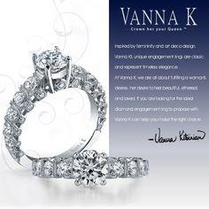 Extraordinary Quality Diamond Rings. Vanna K! qualiti diamond, diamond ring