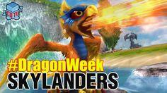 Skylanders DRAGON WEEK Sunburn #Skylanders #dragonweek #toys #collecting