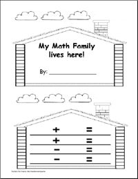 math facts family