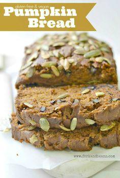 Gluten-free & Vegan Pumpkin Bread