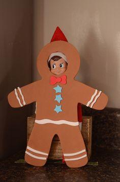 Gingerbread Man photo op.