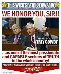 Trey Gowdy!