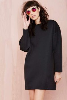 BLQ Basiq Olivia Scuba Dress - Day | Shift | LBD