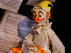 Petrushka, the Russian folklore buffoon, is said to be derived from the Italian character of Pulcinella