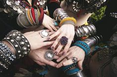 Kuchi tribal Hands/jewelry