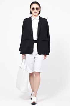Marni Bermuda Shorts (White/Black)