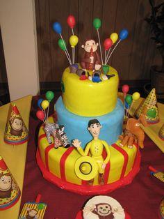 curious george birthday on pinterest curious george