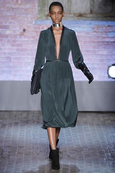 Yigal Azrouël RTW Fall 2012