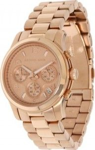 Michael Kors Rose Gold Runway Watch  Have it. Love it. Goes with sooo much. (Look for the Michael Kors Rose Bag)!!  Have it too. Love it too  ;)