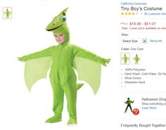 Tiny the Pterodactyl and the Gender Ideology of Halloween (click thru for analysis)