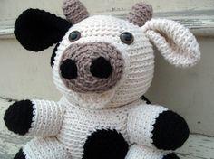Crochet PATTERN: Cow -pdf-