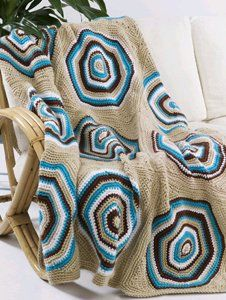 Retro circle afghan free pattern. Thanks so for share xox
