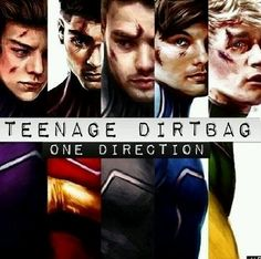 One DirectionOne Direction Teenage Dirtbag Edit