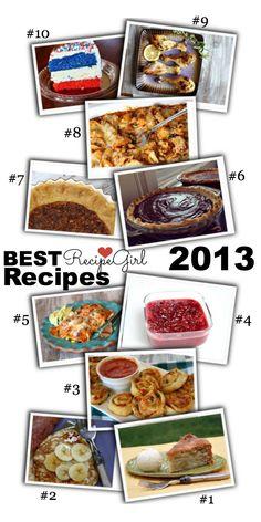 Best Recipes from http://RecipeGirl.com 2013