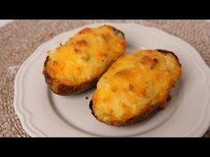 Thanksgiving Side Dish Recipe: Twice Baked Potatoes
