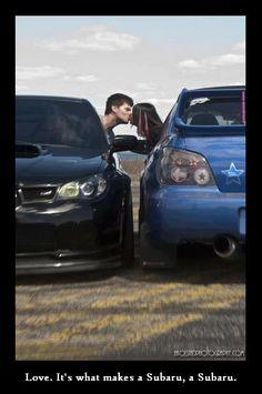 Love. It's what makes a Subaru, a Subaru.