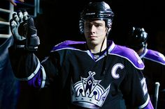 LA Kings Captain - Dustin Brown ;)