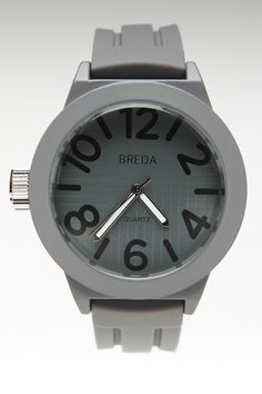 JackThreads - Jaxon Watch Grey