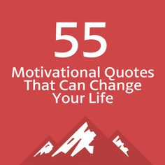 This is the holy grail for motivational quotes! So many of these have had such a profound effect on my life…