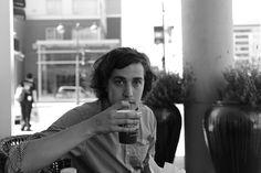 @Rob Mason drinking coffee