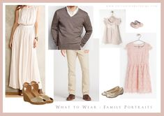what to wear for family portraits | betrueimagedesign.com