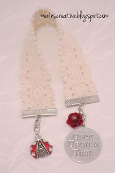 DIY Ribbon Bookmarks...Jewelry For Books