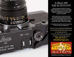 158.000 $US for a vintage Leica ...