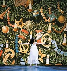 "Children's book author Maurice Sendak created the sets for Pacific Northwest Ballet's ""The Nutcracker."""