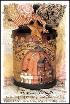 EPattern  Autumn Twilight   Martha Smalley's by appletreecottage,