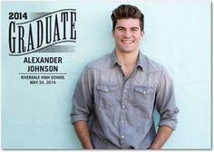 Grad Glory - #Graduation Announcements - Southern Living Magazine #grad