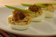Crab-Stuffed Deviled Eggs recipe. For more ideas like this, watch our TV series Saturdays at 9am/8c on OWN.