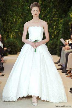"this reminds me of Southern Little Rock brides - carolina herrera wedding dresses spring 2014 ""audrina"""