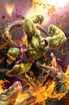#Hulk #Fan #Art. (Jungle Hulk) By: Michalivan.