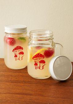 Mushroom for Two Mug Set