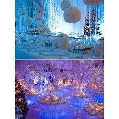 JADE GREEN & ICE BLUE WEDDING THEMES   Found on polyvore.com
